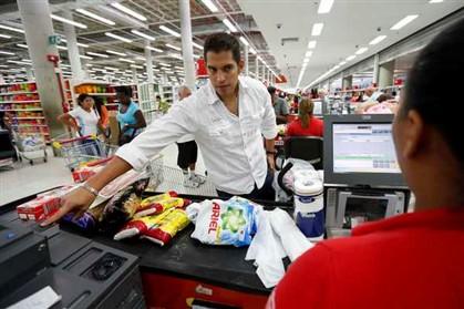 A partir de amanhã é preciso impressão digital para fazer compras na Venezuela