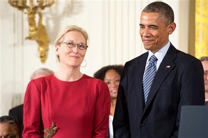 Obama ama Meryl Streep. E o mundo também