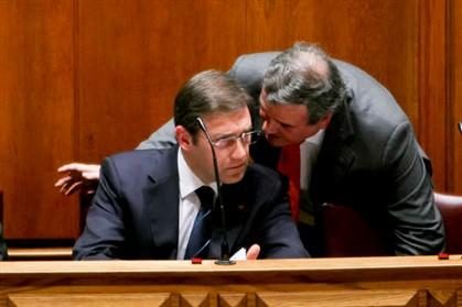 Passos Coelho e Miguel Relvas
