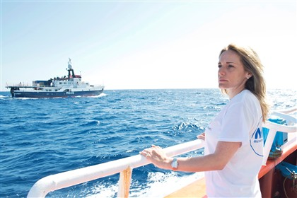 A visita do Papa a Lampedusa inspirou a ação de Regina Catrambone e a aquisição do 'Phoenix'