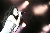 Lorde no Rock in Rio-Lisboa.