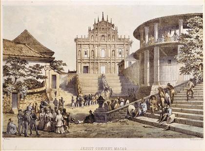 Ruínas da Igreja de São Paulo, em Macau