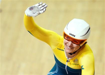 Anna Mears com recorde de 11 títulos mundiais em ciclismo de pista