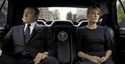 'House of Cards', o drama pol�tico est� hoje no DN