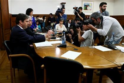 Paulo Núncio, secretário de Estado dos Assuntos Fiscais, na comissão parlamentar de Finanças, sexta-feira.