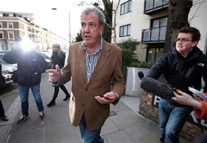 "Clarkson exigia �lcool, Scrabble e ""caixotes do lixo bonitos"""