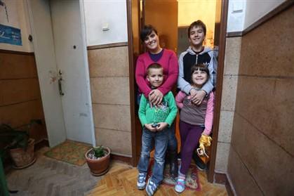 A família Vegra vê vantagens em viver na cidade
