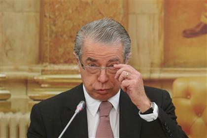 Ricardo Salgado na comissão de inquérito parlamentar ao caso BES