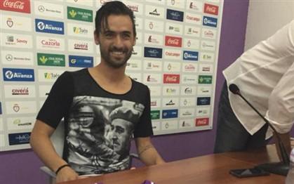 Uma t-shirt de Franco? Foi assim que Nuno Silva foi apresentado no Jaen