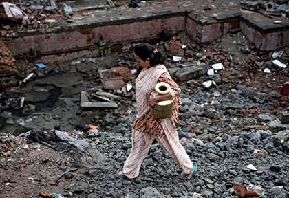 Após o terramoto que atingiu o Nepal a 25 de abril passado e que custou a vida a quase 9.000 pessoas, aconteceram inúmeros deslizamentos de terra no país