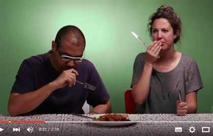 """Quero comer o mesmo que o Cristiano Ronaldo"". Americanos provam comida portuguesa Ng4540027"