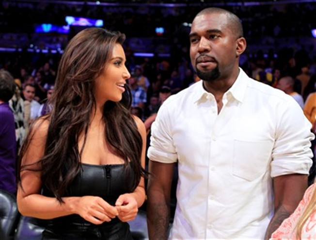 Kim e Kanye recebem indemniza��o milion�ria do YouTube