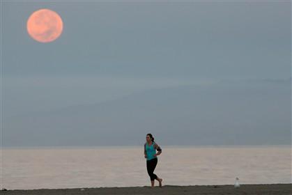 """A """"Lua de Sangue"""" de outubro, a segunda desta tétrade lunar"""