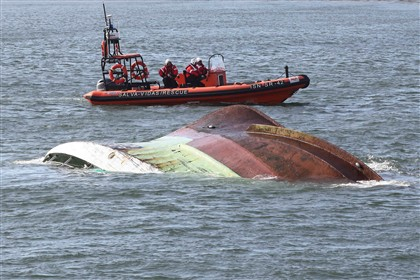 Encontrados corpos de dois dos quatro pescadores desaparecidos no naufrágio na Figueira