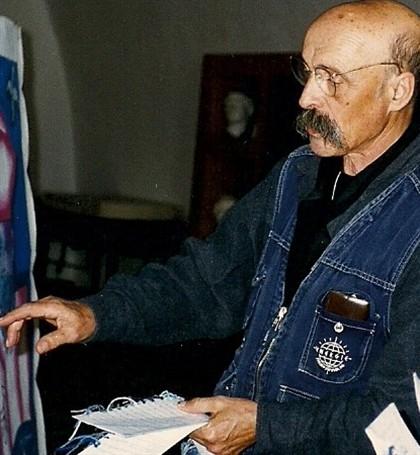 O pintor Costa Pinheiro