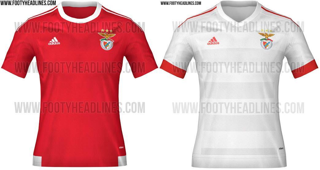 FC Porto - Site divulga equipamentos de Benfica e FC Porto