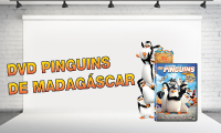 DVD Pinguins de Madag�scar com o DN