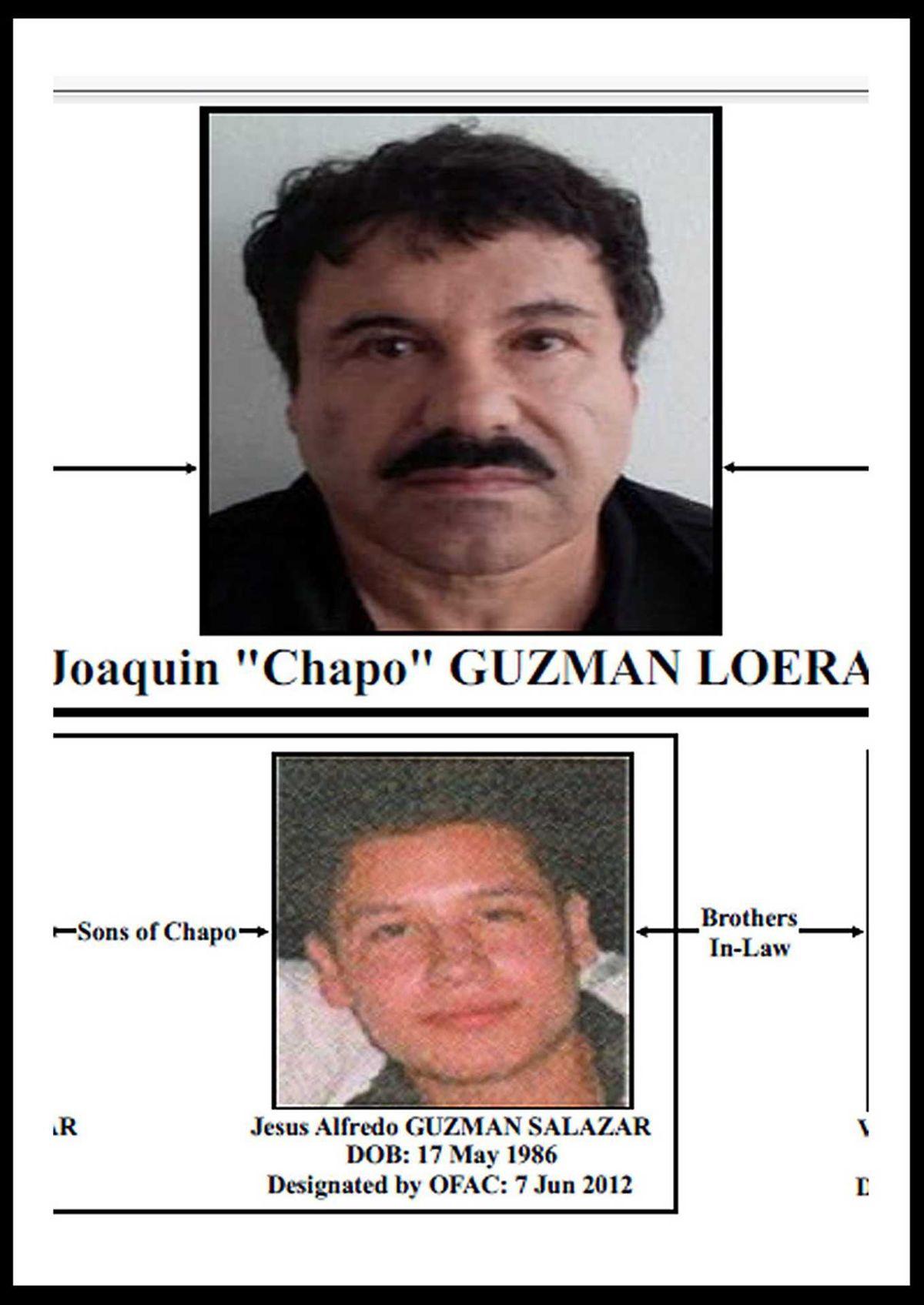 Os herdeiros de El Chapo ou a queda de um império da droga
