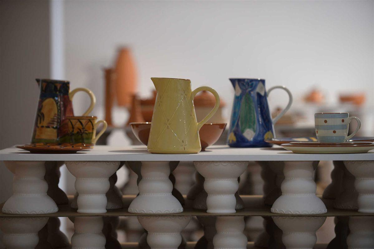 Uma bienal de cer mica em tr s tempos cole o autor f brica for Fabrica de ceramica