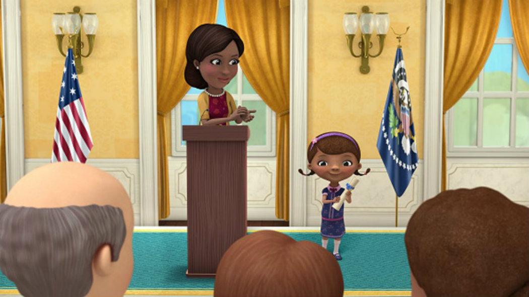 Doutora Brinquedos A Serie Da Disney Que Chegou A Casa Branca Dn
