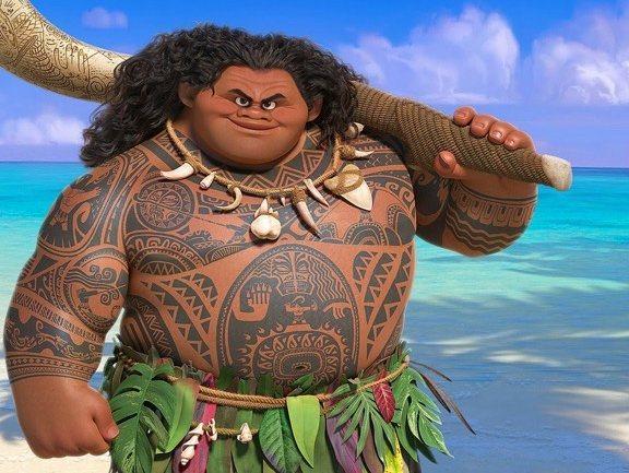 A última Polémica Dos Filmes Disney Um Deus Do Pacífico Obeso