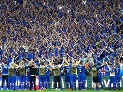 ″Haka dos Vikings″  a celebração da Islândia que arrepiou o estádio 2b3ce0373a437