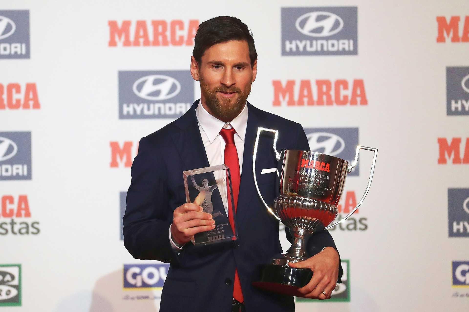 5d366797ce Lionel Messi eleito o melhor jogador pelo jornal Marca