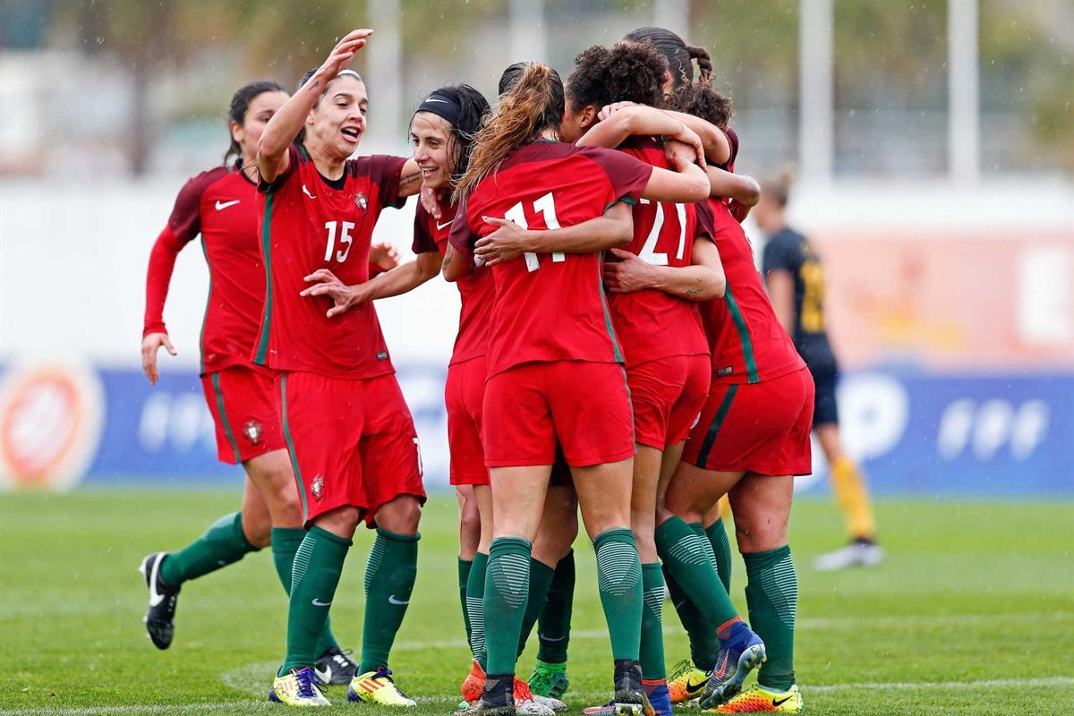 79671301e6 Pódio na Algarve Cup. Seleção feminina cresce à medida que faz história