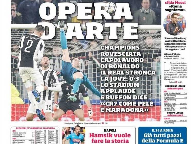 De Outro Planeta Jornais Desportivos Europeus Rendem Se A Obra De