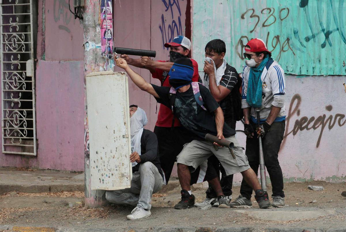Repressão A Manifestações Na Nicarágua Estala Clima De Revolta