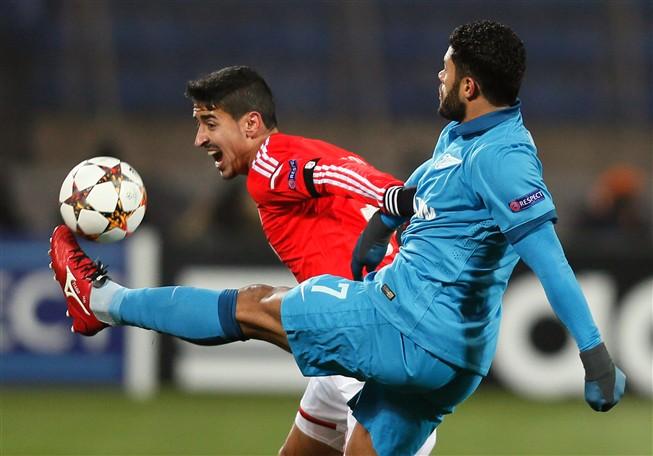 Benfica perdeu por 1-0 na Rússia