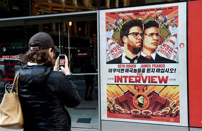 "Filme ""The Interview"" foi usado como justifica��o para ataque inform�tico"