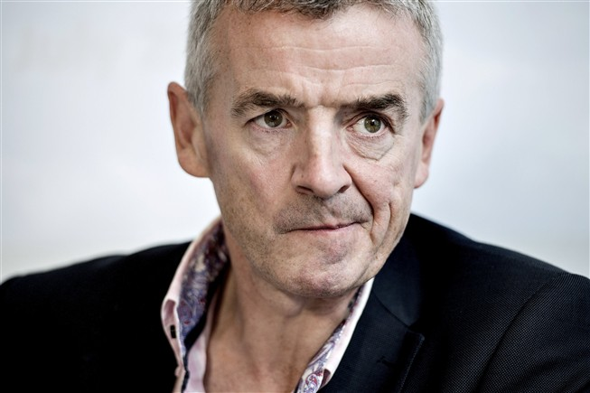 Presidente executivo da Ryanair, Michael O'Leary