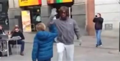 Novo vídeo de Ronaldo disfarçado de mendigo em Madrid