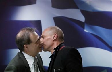 Grécia reclama para a Europa program como o que salvou EUA