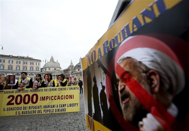Premiê italiano é criticado após estátuas serem cobertas durante visita do Irã