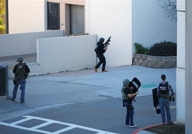 Disparos em centro médico da marinha dos EUA em S.Diego