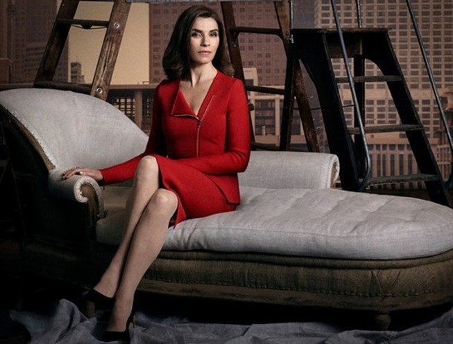 "Julianna Margulies d� vida a Alicia Florrick em ""The Good Wife"""