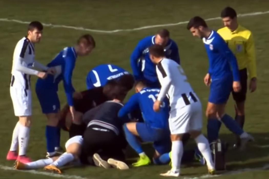 3241f364ff Jogador croata morre em campo depois de atingido por bola no peito