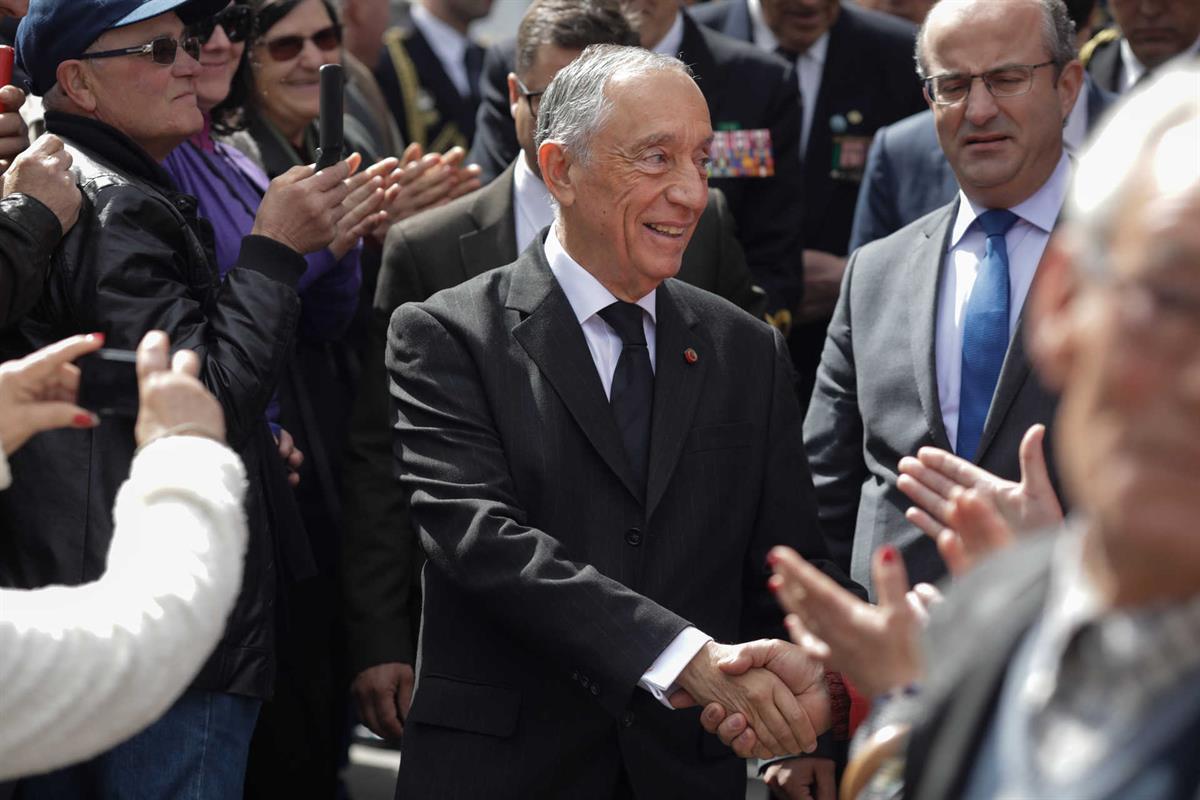e394665dafb3e Marcelo faz primeira visita de Estado a Espanha