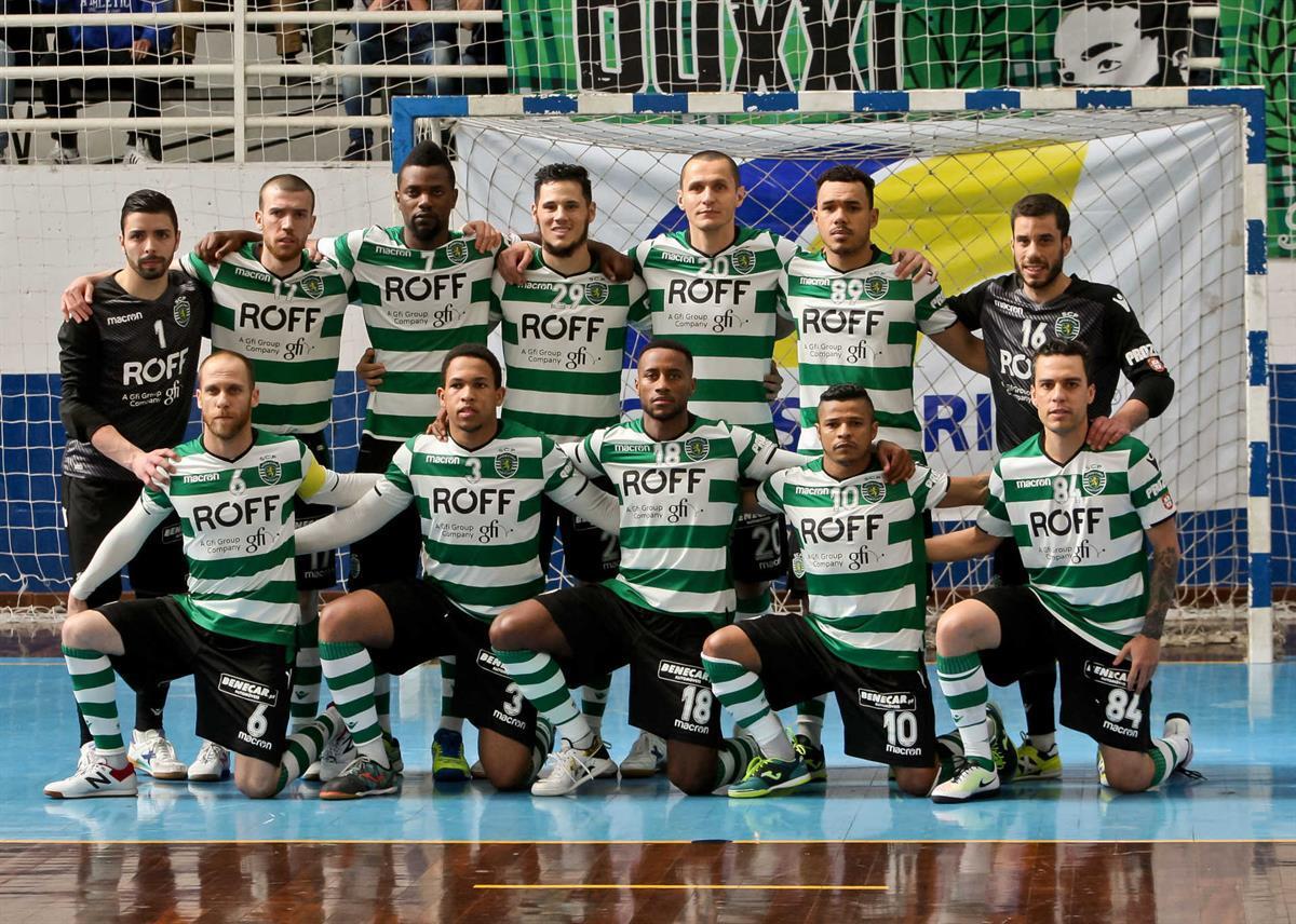 Bicampeão Sporting assegura presença na final do Nacional 9b43064db935f