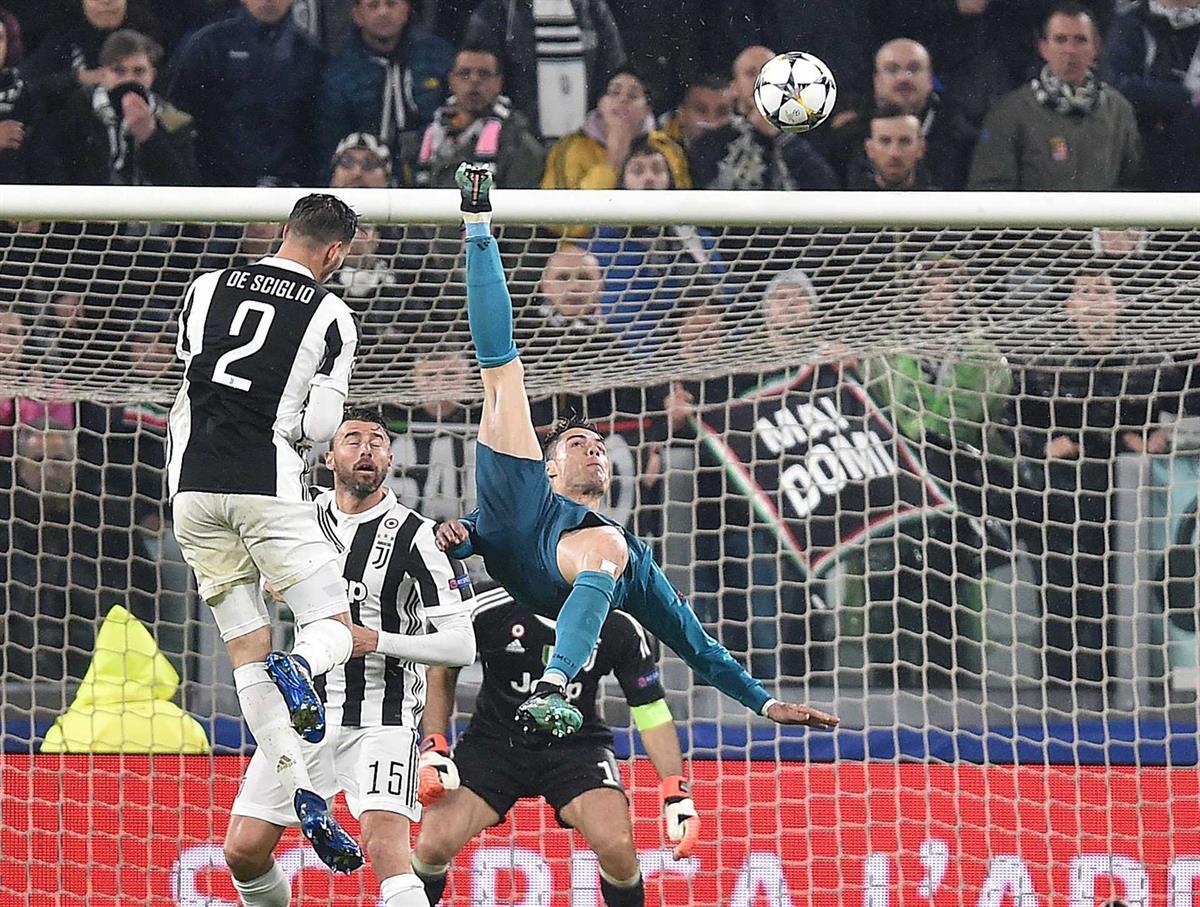 Real Madrid sem palavras no aplauso da Juventus à ″bicicleta″ de Cristiano  Ronaldo dc2af6a046e45