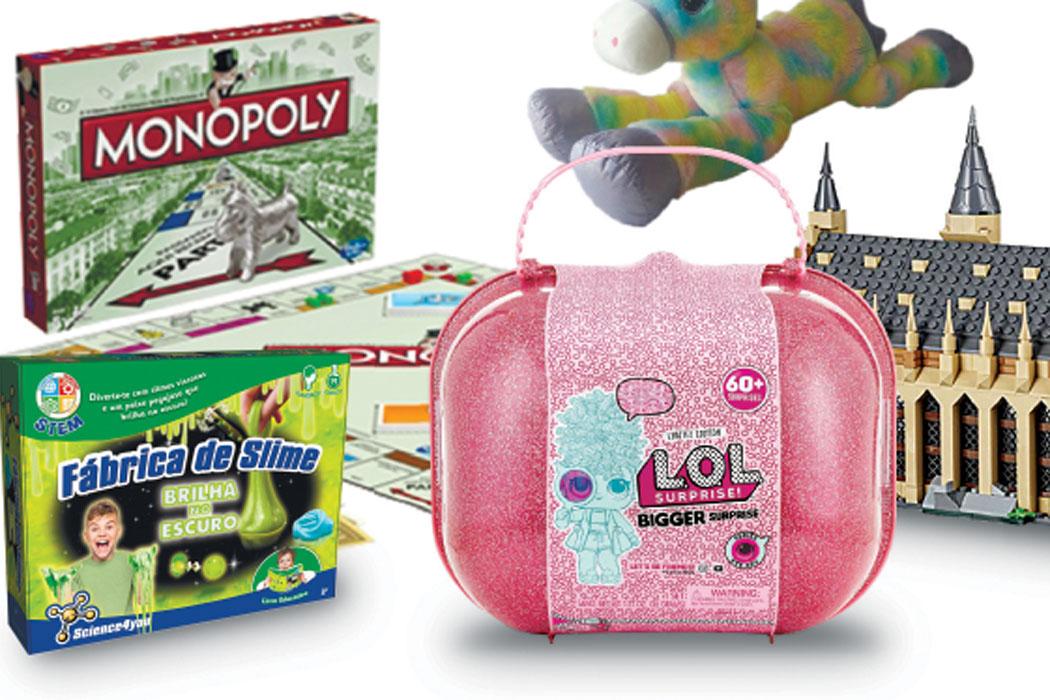 Saco do Pai Natal está mais cheio com brinquedos caros 64b890d3df0