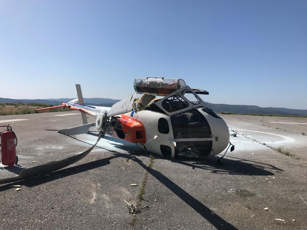 Resultado de imagem para Acidente com Helicóptero de combate a incêndios