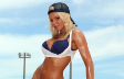 EXCLUSIVO J[###]Heather Stanholtz, desporto � com...