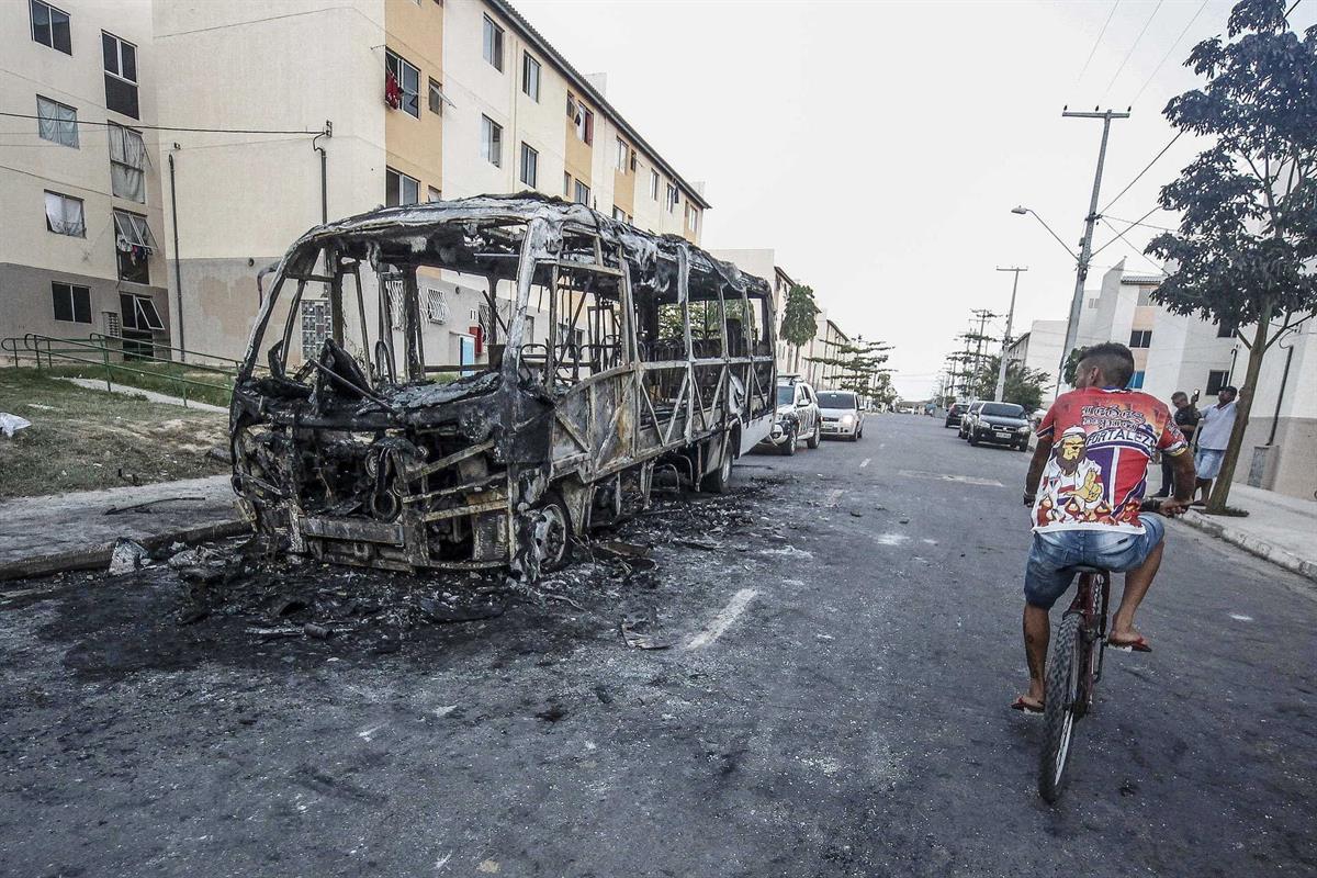 Resultado de imagem para Ceará em estado de sítio. Onda de violência e centenas de ataques sem fim à vista