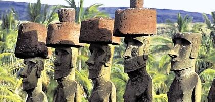 Resolvido o mistério das estátuas da ilha da Páscoa