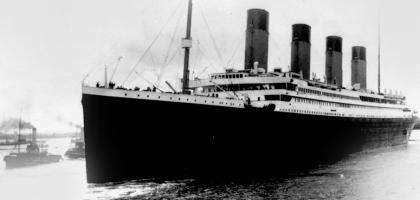 Cruzeiro em 2012 recria viagem do 'Titanic'