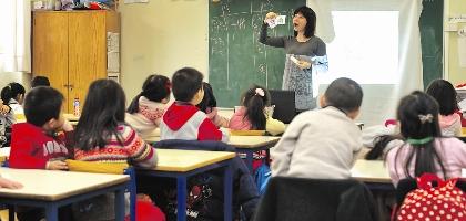 Estudantes chineses estão a aumentar
