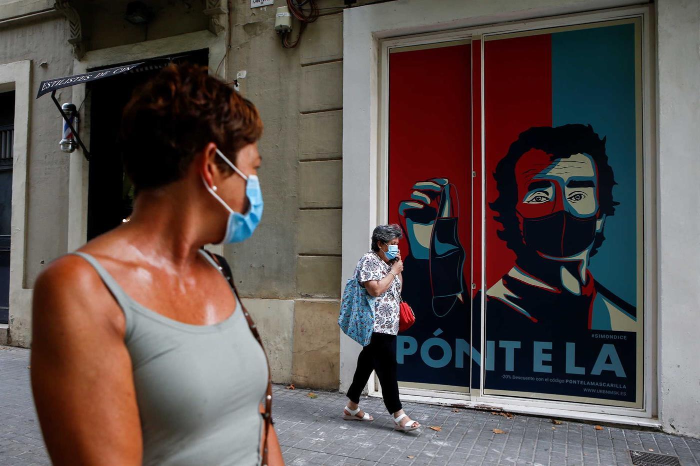 Habitantes de Barcelona aconselhados a ficar em casa devido a ...